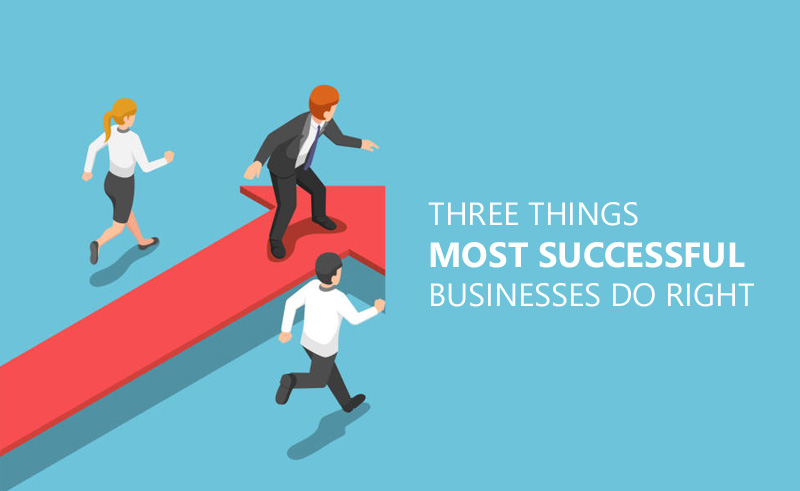 Three Things Most Successful Businesses Do Right